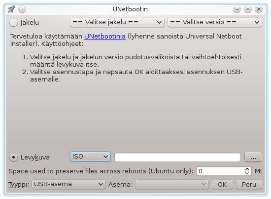 UNetbootin kuvakaappaus.png